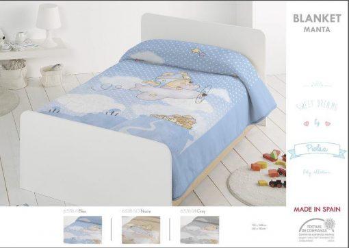 Κουβέρτα bebe 80x110 και 110x140 ακρυλική Ισπανίας 6378