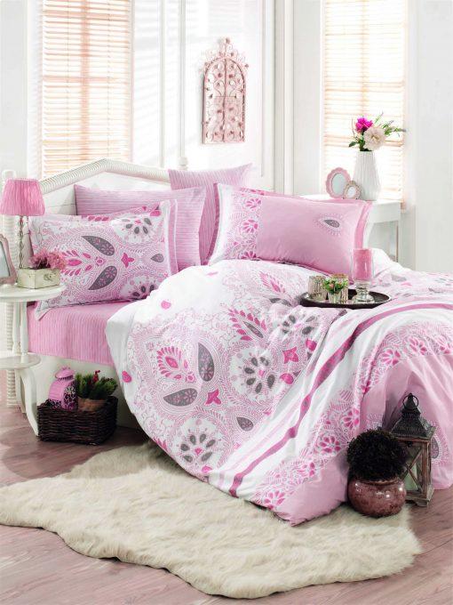 Σεντόνια Set Μονά (2 pcs 160x240 1 pc 50x70 Oxford pillow) design1801