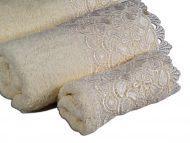 Πετσέτα set - δαντέλα 10cm