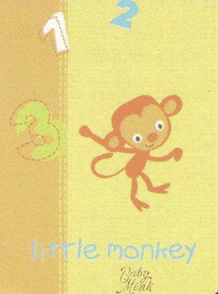 Κουβέρτα bebe κούνιας 80x110 - Little Monkey
