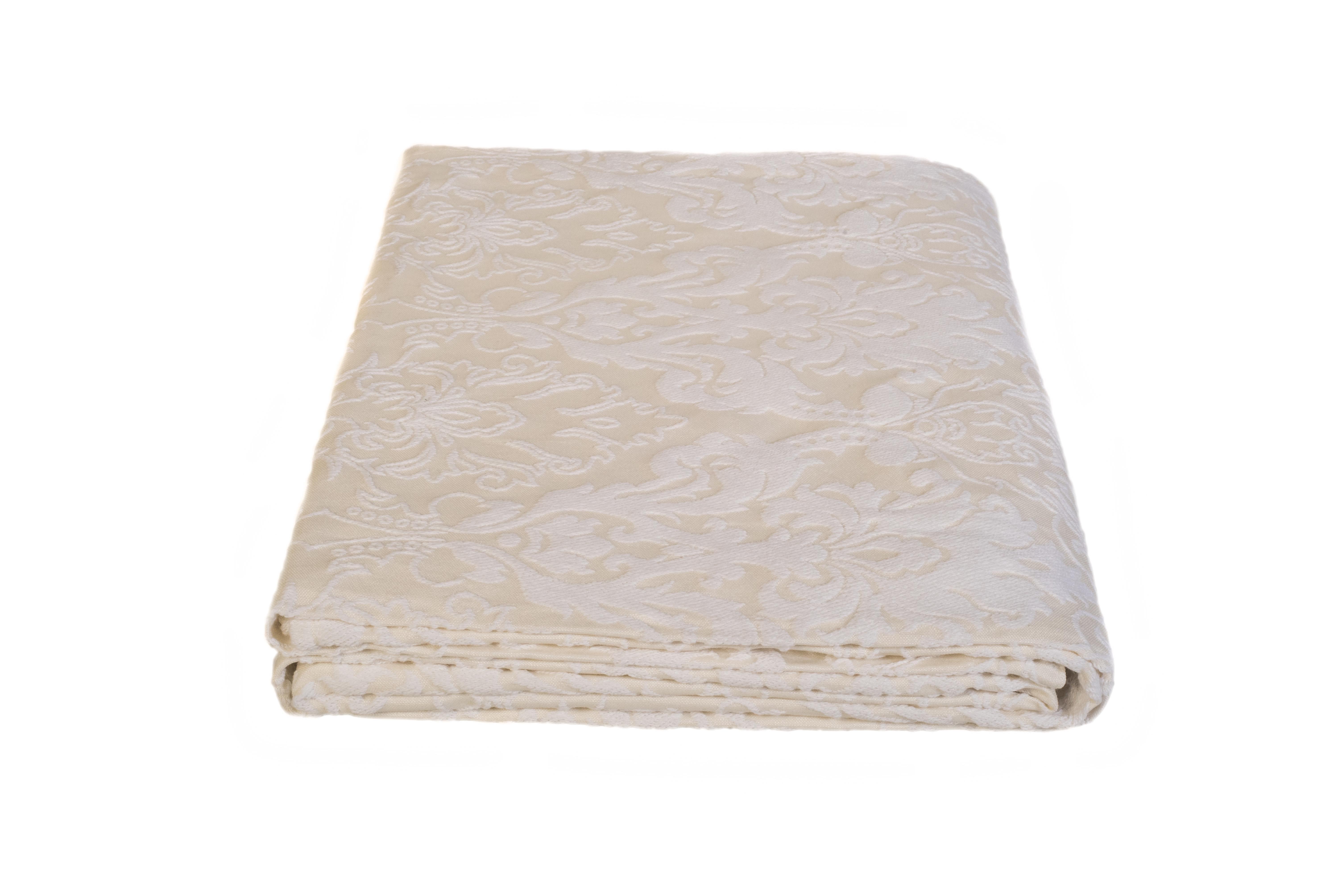 Κουβέρτα πικέ - εκρού - Fust094