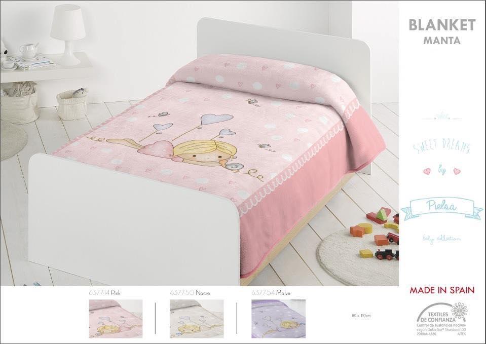 Κουβέρτα bebe 80x110 ακρυλική Ισπανίας 6377