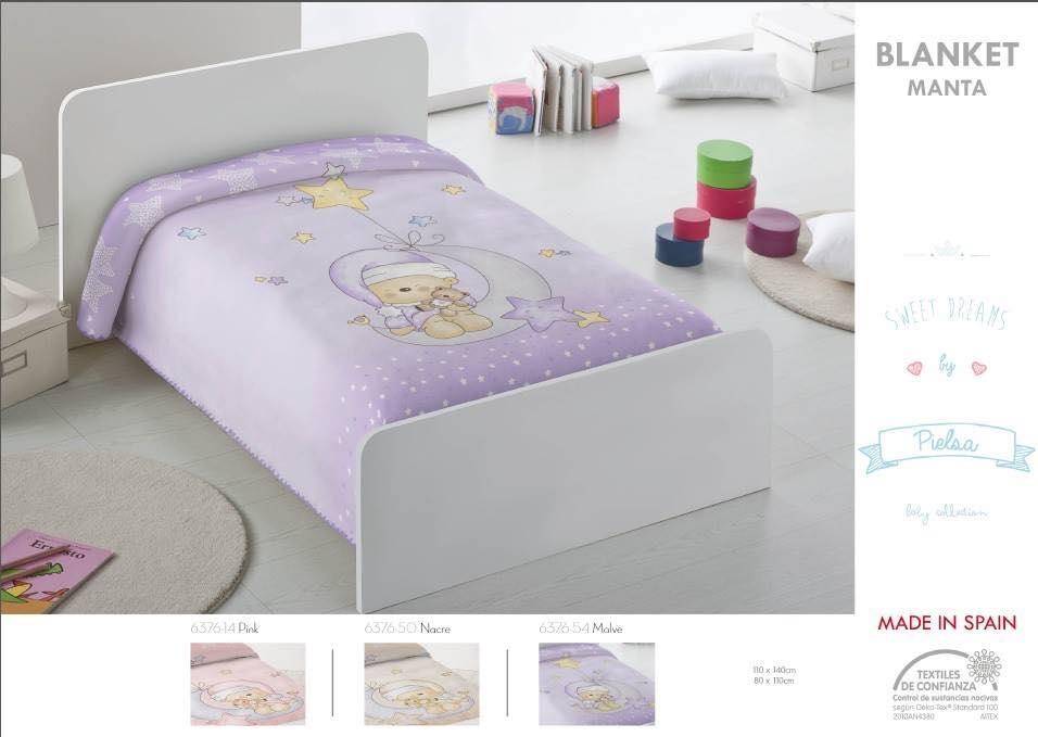 Κουβέρτα bebe 80x110 και 110x140 ακρυλική Ισπανίας 6376