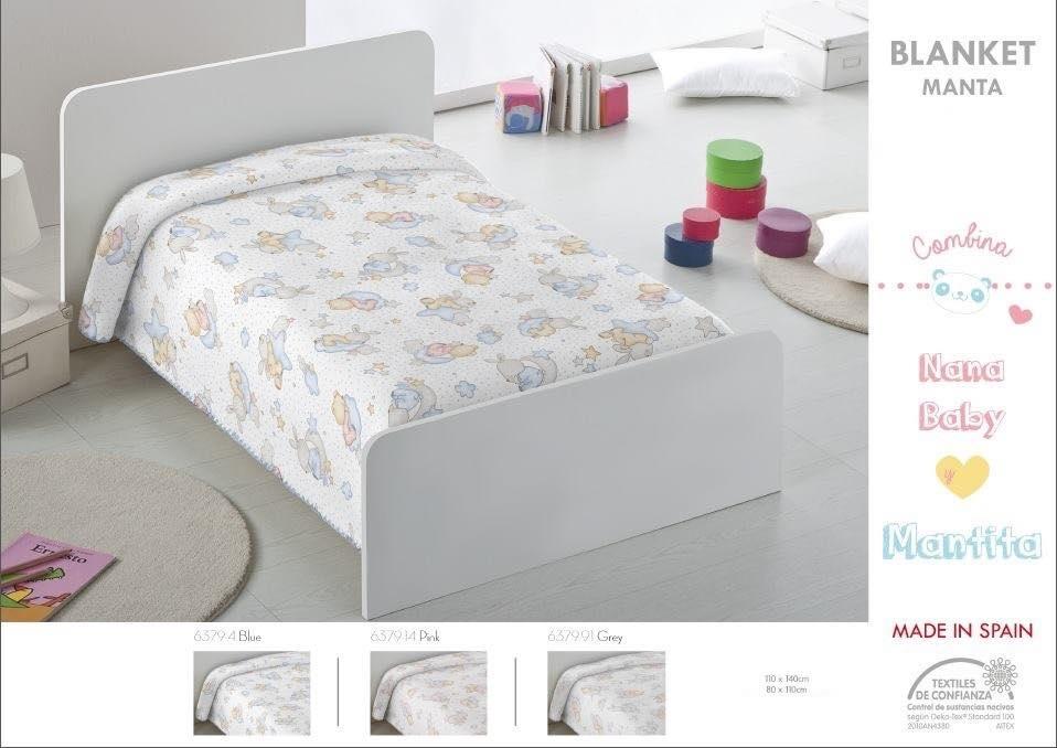 Κουβέρτα bebe 80x110 και 110x140 ακρυλική Ισπανίας 6379