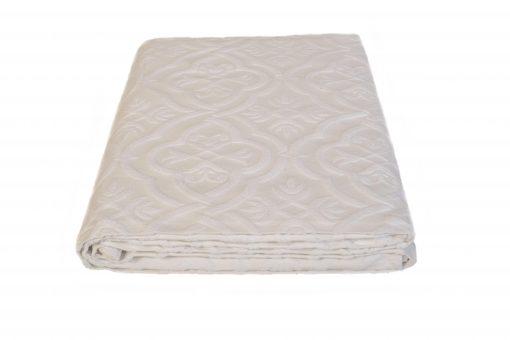 Κουβέρτα πικέ - λευκή - Fust041
