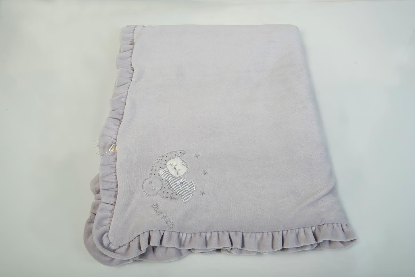 Κουβερτάκι bebe – Βελουτέ γκρί
