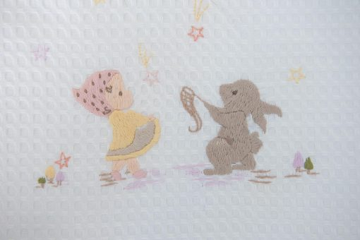 Σεντόνι χειροποίητο NEW – Πάνα – Κουβερτάκι – STARS