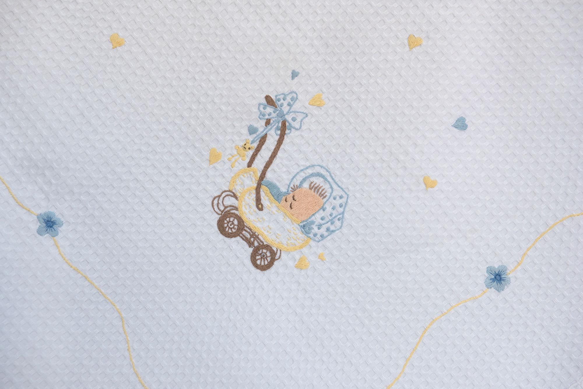Σεντόνι χειροποίητο NEW – Πάνα – Κουβερτάκι – BOY