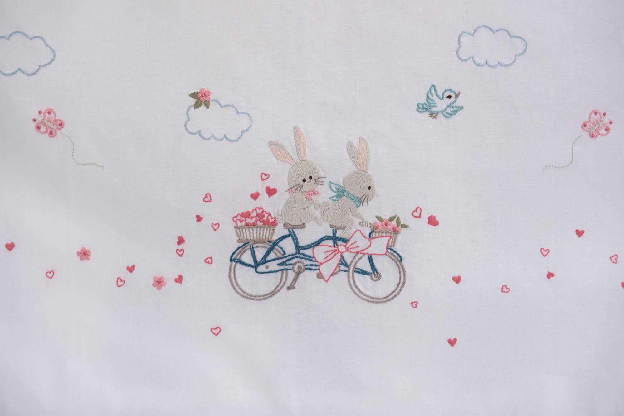 Σεντόνι χειροποίητο NEW – Πάνα – Κουβερτάκι – BICYCLE