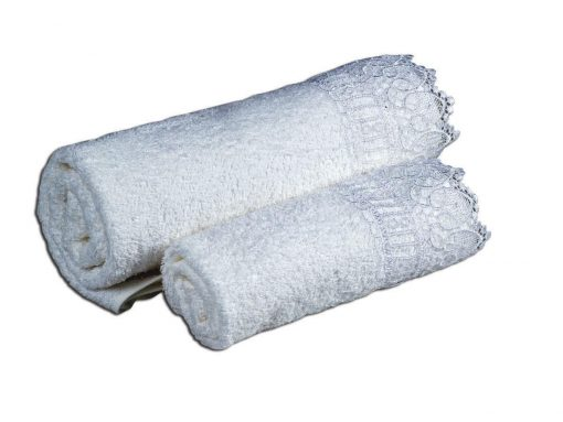 Πετσέτα set - δαντέλα 5cm