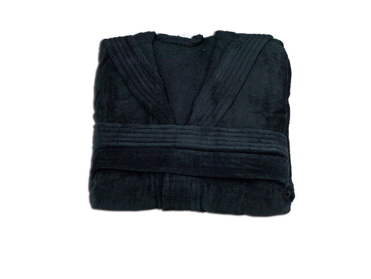 Μπουρνούζι - Βελουτέ - Κόκκινο - Μαύρο