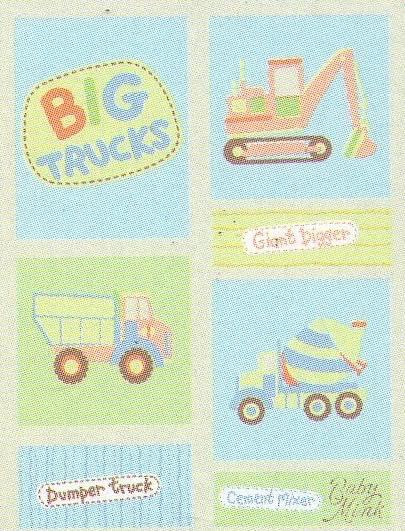 Κουβέρτα σάκος bebe - Trucks