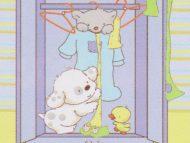 Κουβέρτα bebe κούνιας 80x110 - Ropero
