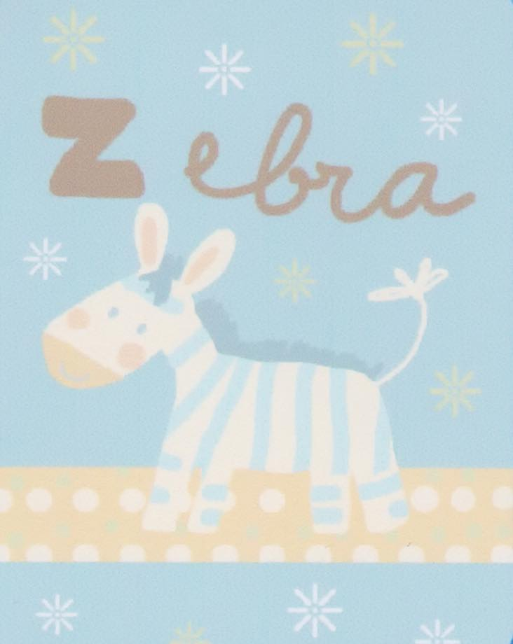Κουβέρτα bebe κούνιας 80x110 - Cebra