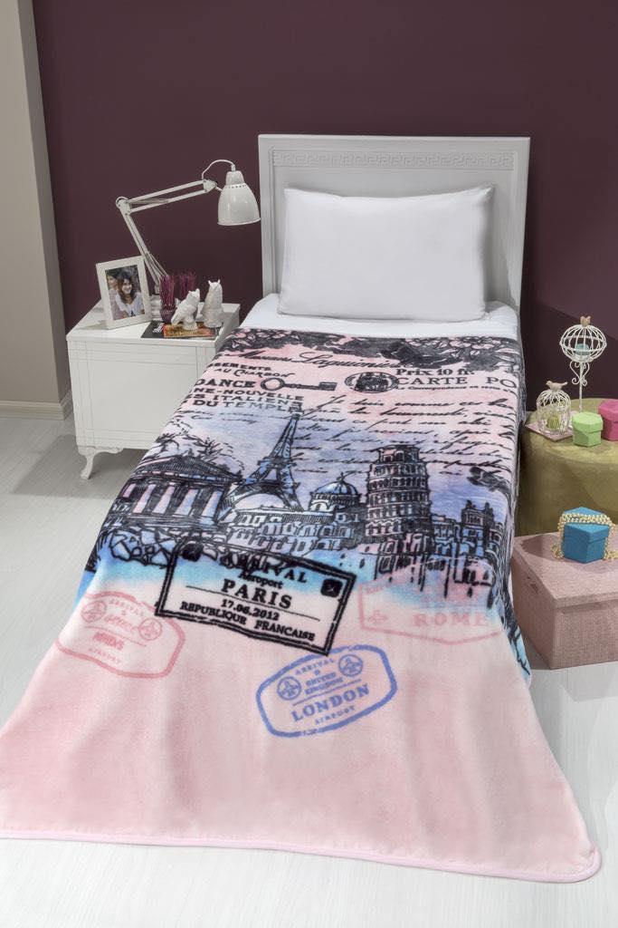 Κουβέρτα acrylic - art Europa