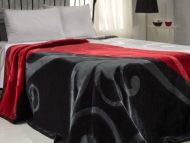 Κουβέρτα acrylic - art 632 - α) καφέ